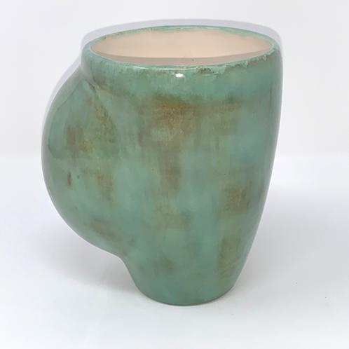 Soft Green Hand Warmer Mug