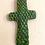 Thumbnail: Deep Green Chiseled Wall Cross