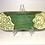 Thumbnail: Oblong Green Lace Serving Platter