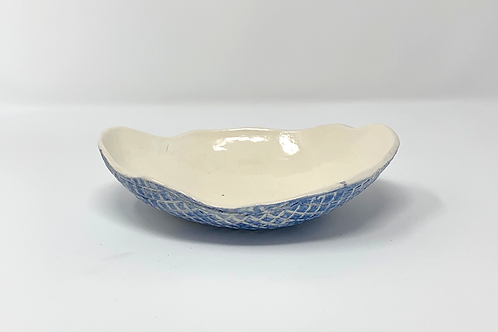 White Bisque Bowl / Holy Water Font #3