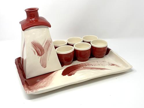 Custom Designed Saki Set