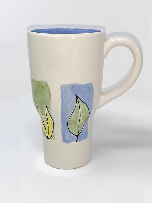 Blue & Green Spring Collection Travel Mug