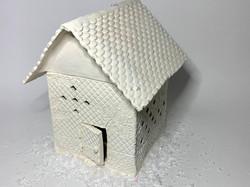 Tiny House Luminary With Diamond Windows