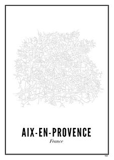 Affiche Aix-en-Provence