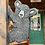"""Thumbnail: 18"""" Flat Climbing Bear (Facing Left)"""