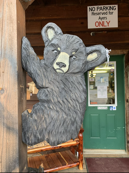 "18"" Flat Climbing Bear (Facing Left)"