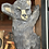 "Thumbnail: 18"" Flat Climbing Bear (Facing Right)"