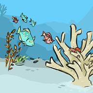 Coral County Comic, Web comic, digital art, scientific illustration, Brianna Leahy Art