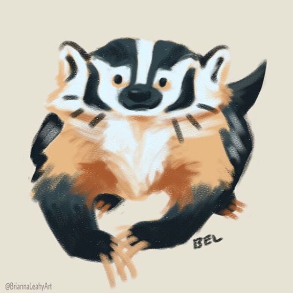 BriannaELeahy_Art_c2017_badger