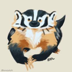 BriannaELeahy_Art_c2017_badger