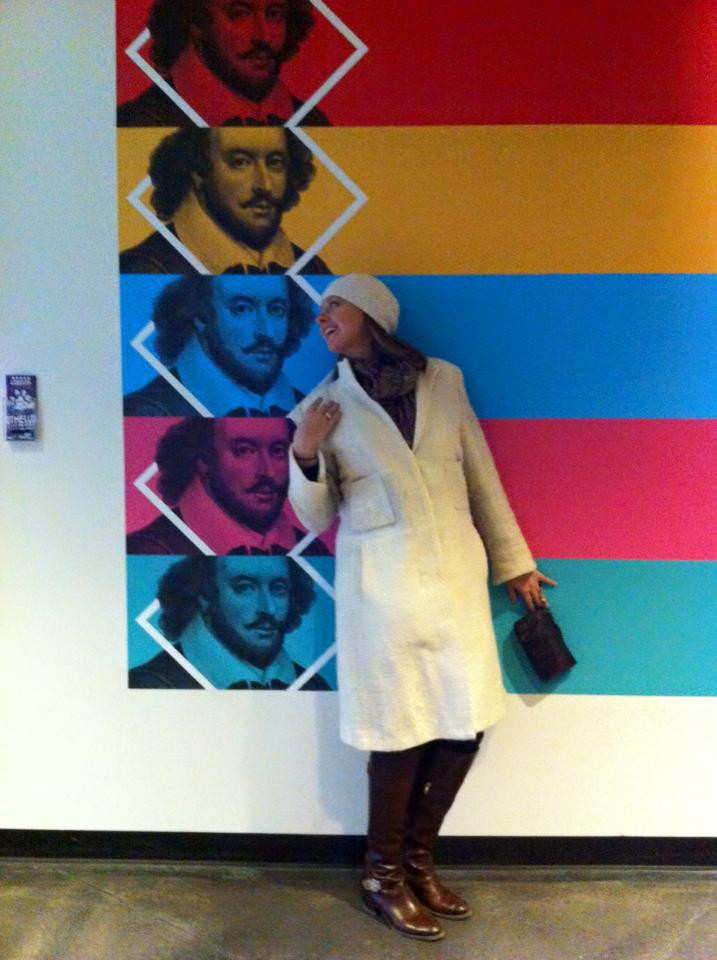 Just oogling Mr. Shakespeare at Chicago Shakes