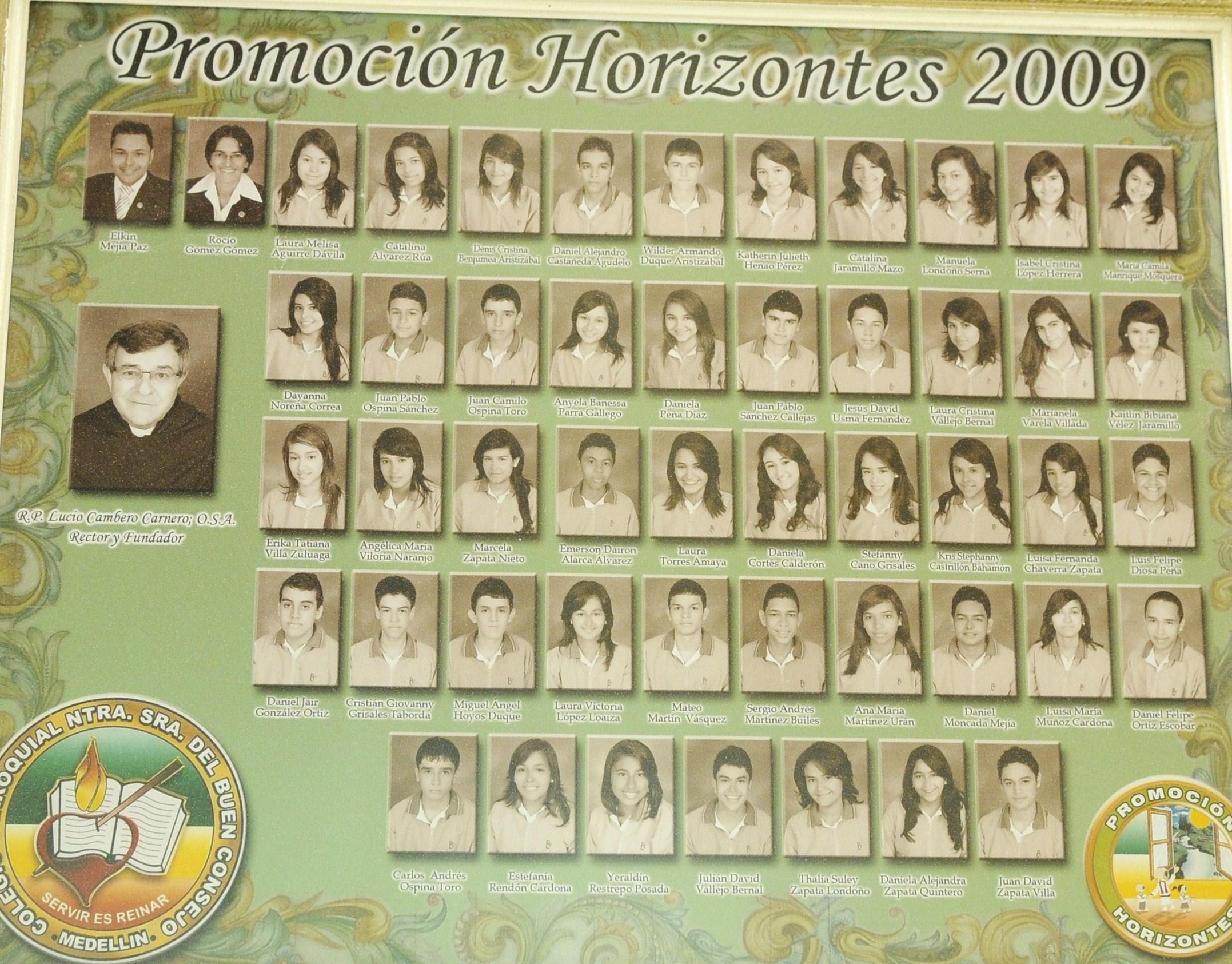 HORIZONTES 2009