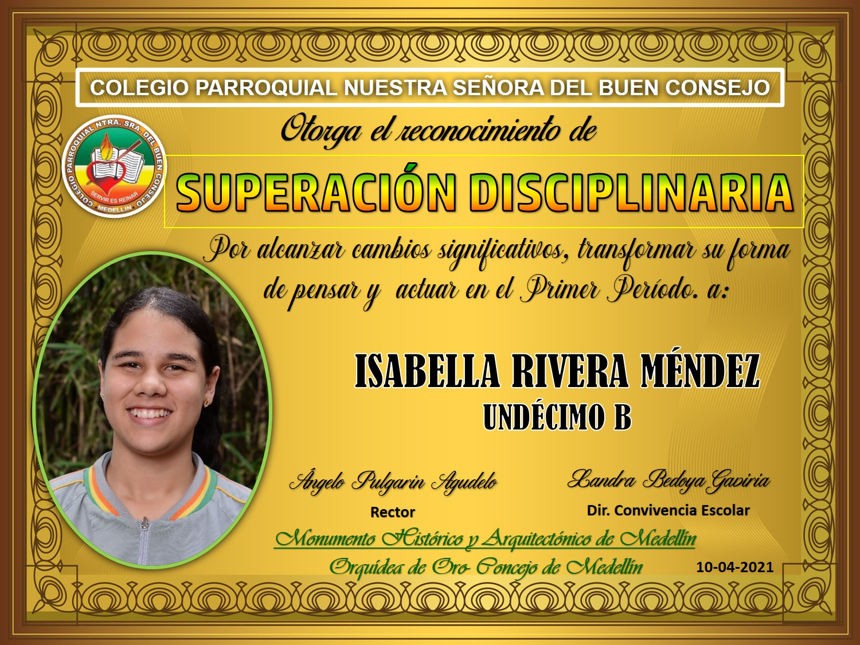11°B ISABELLA GIRALDO MENDEZ