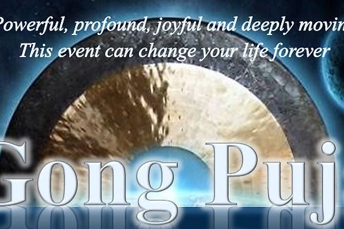 Gong Puja Aug 30th