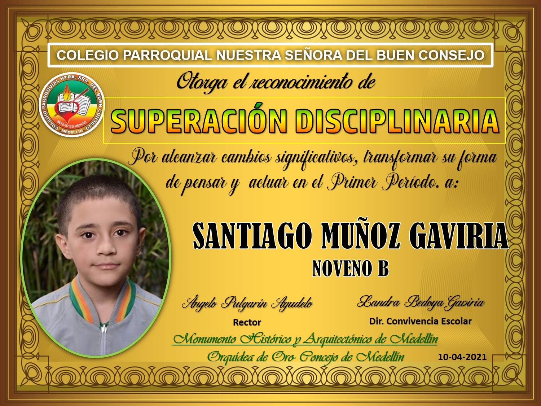 9°B SANTIAGO MUÑOZ GAVIRIA