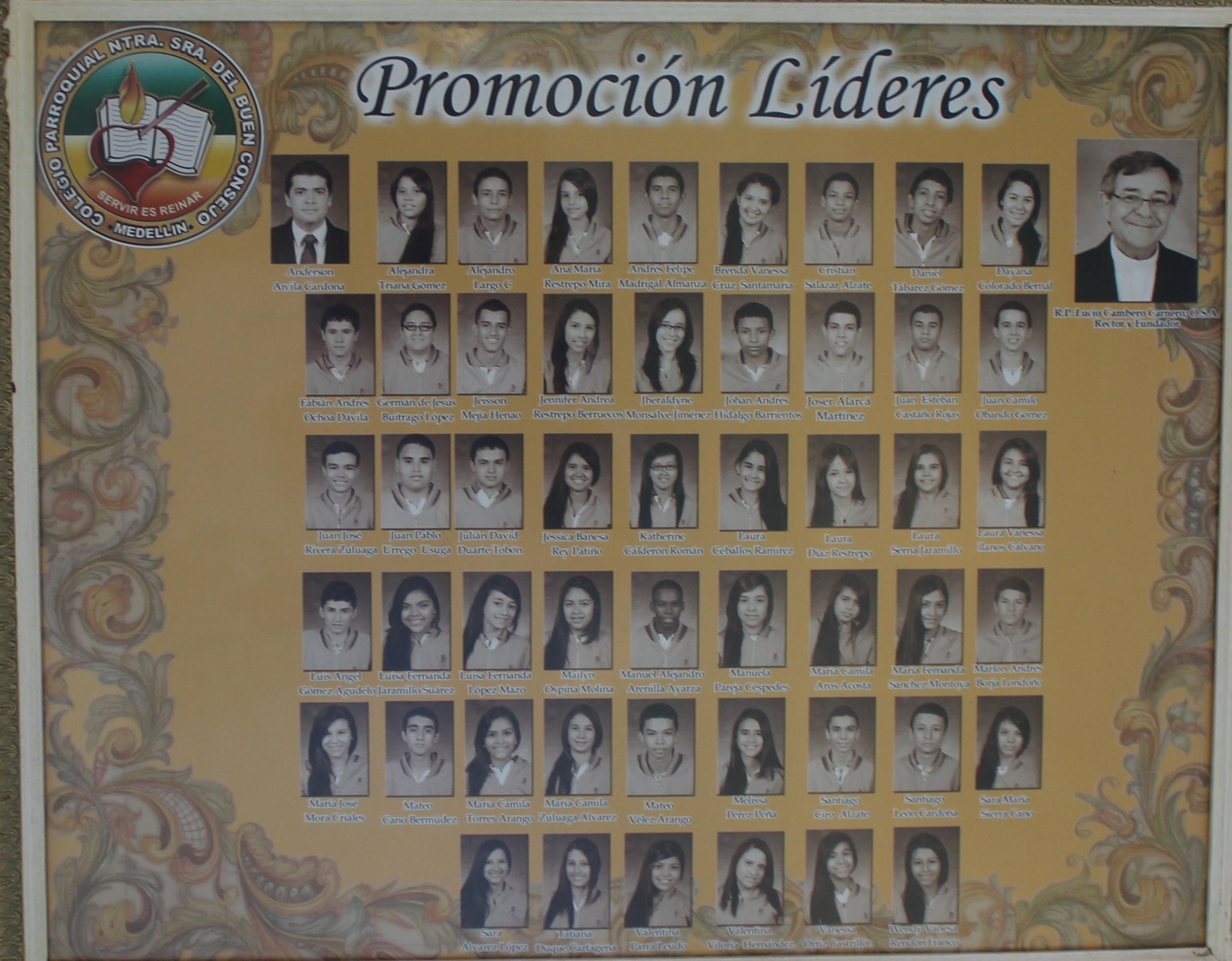 LIDERES 2013