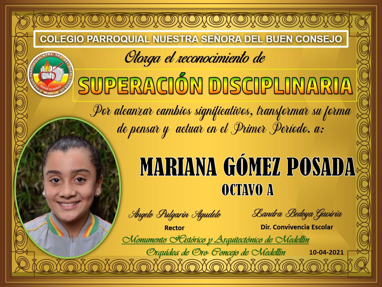 8°A MARIANA GOMEZ POSADA