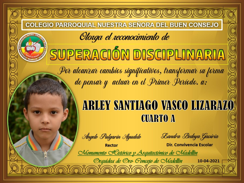 4°A ARLEY SANTIAGO VASCO LIZARAZO