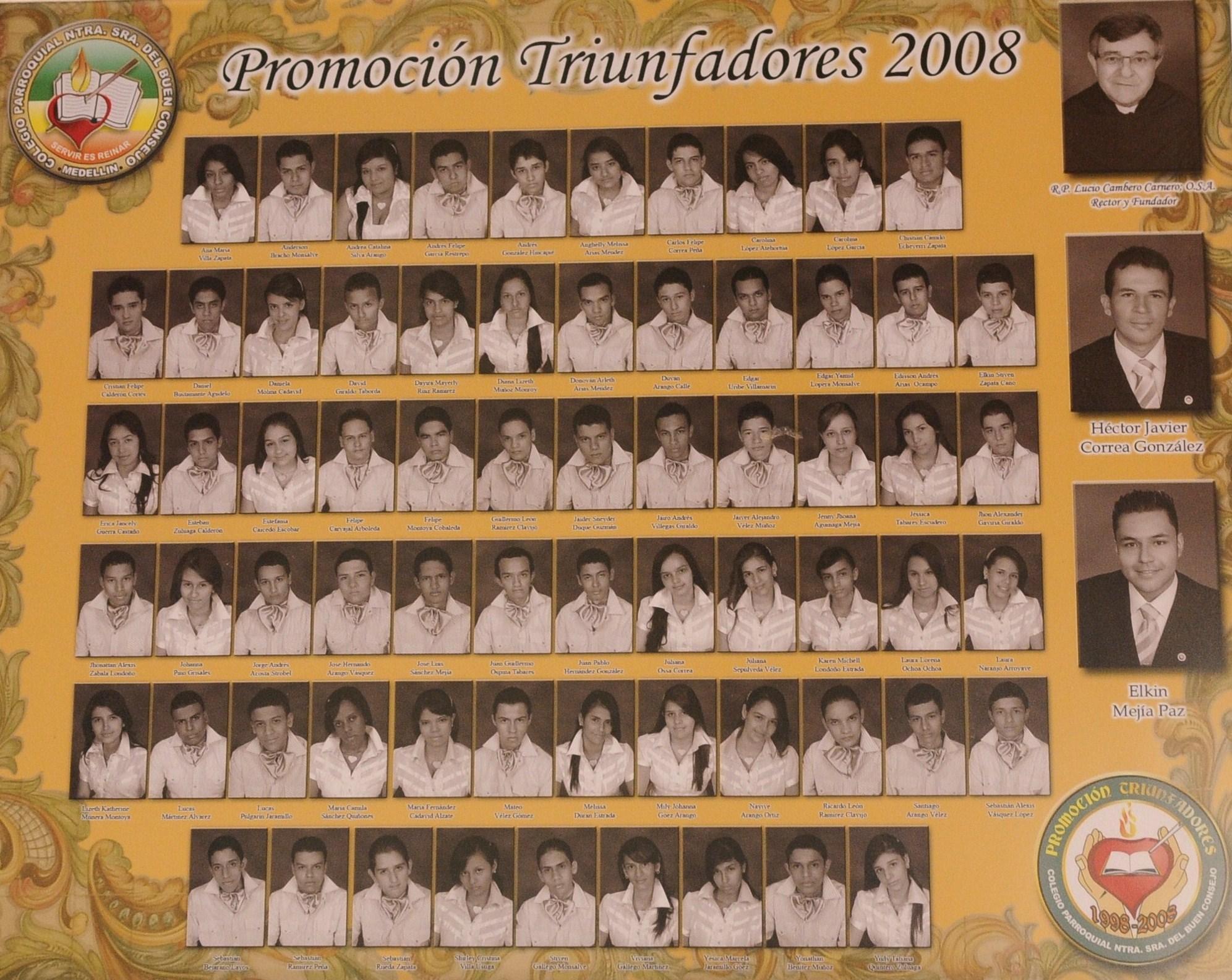 TRIUNFADORES 2008