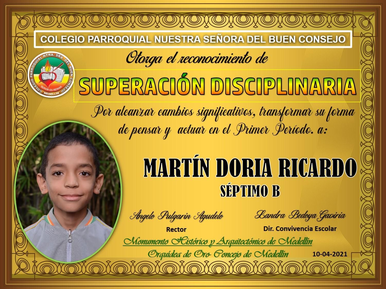 7°B MARTIN DORIA RICARDO