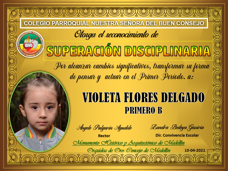 1°B VIOLETA FLORES DELGADO