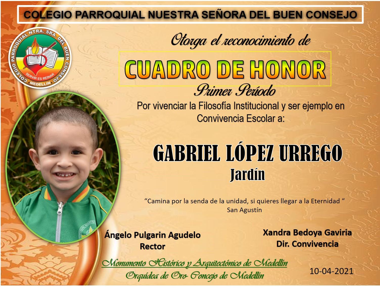 GABRIEL LÓPEZ URREGO -JARDÍN