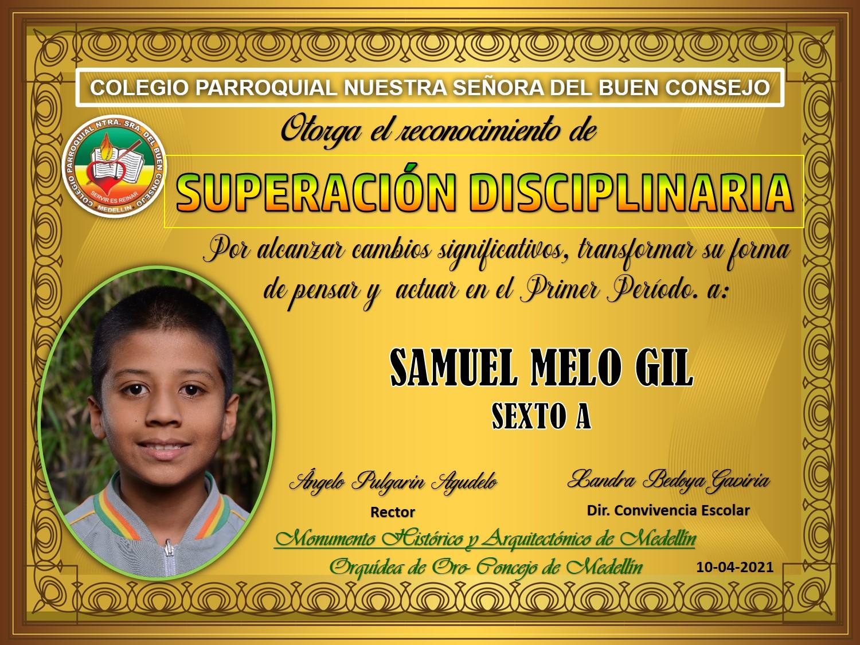 6°A SAMUEL MELO GIL