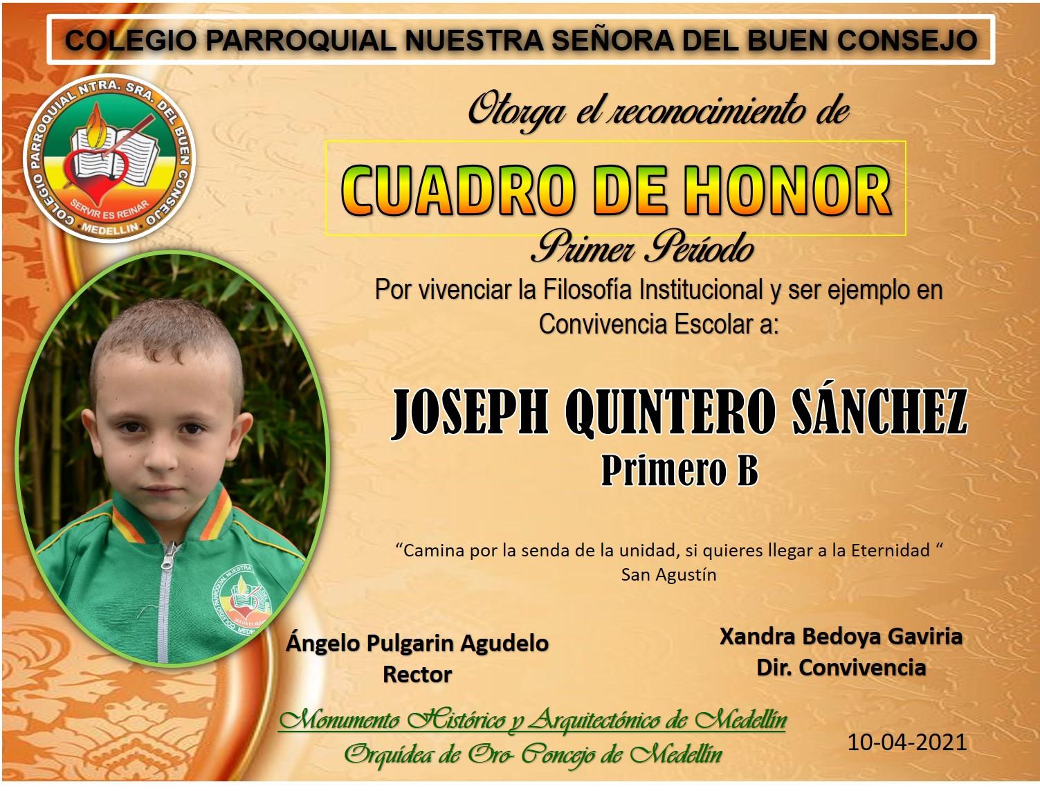 1°B  JOSEPH QUINTERO SÁNCHEZ