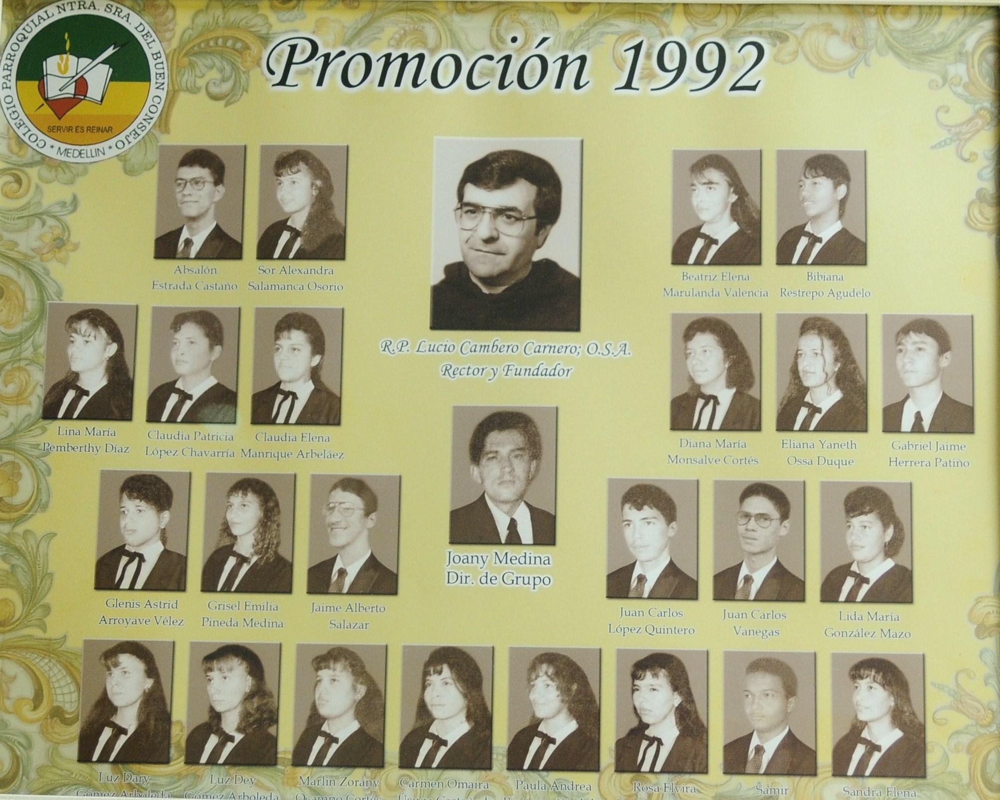 EVANGELIZACIÓN 1992