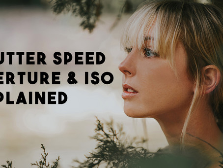 Photography Course For Beginners - Shutter Speed, Aperture, and ISO Explained