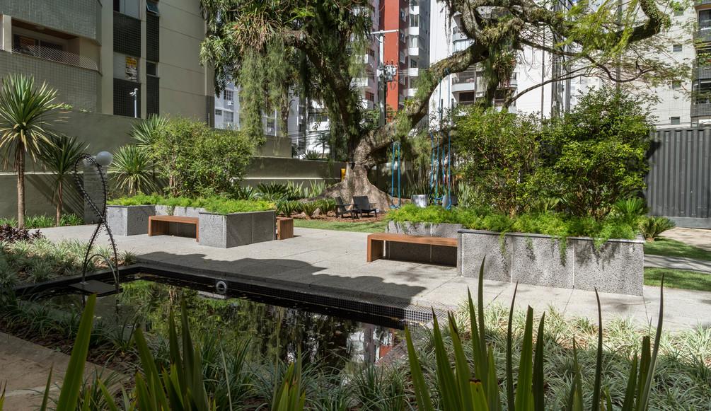 Premiado Um Jardim de Outrora Projeto An
