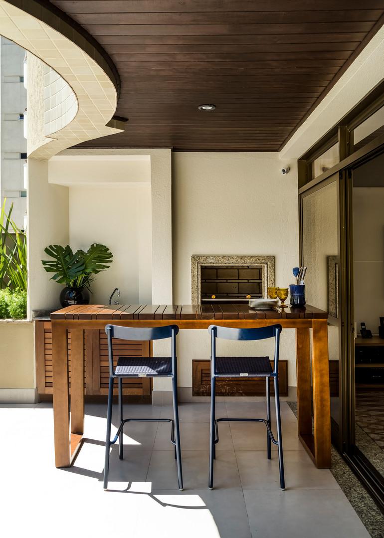 Terraço Apartamento Arquitetura Paisagis