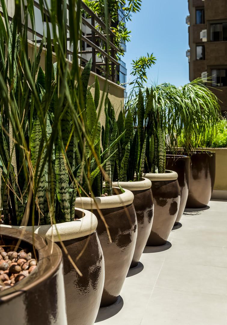 Projeto Paisagismo Terraço Apartamento A