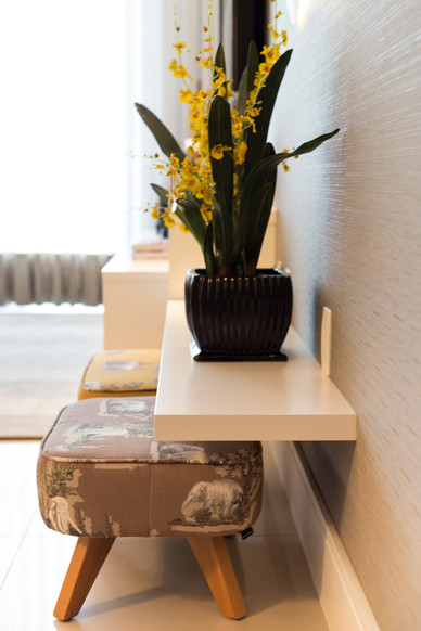 Apartamento clean hall de entrada projet