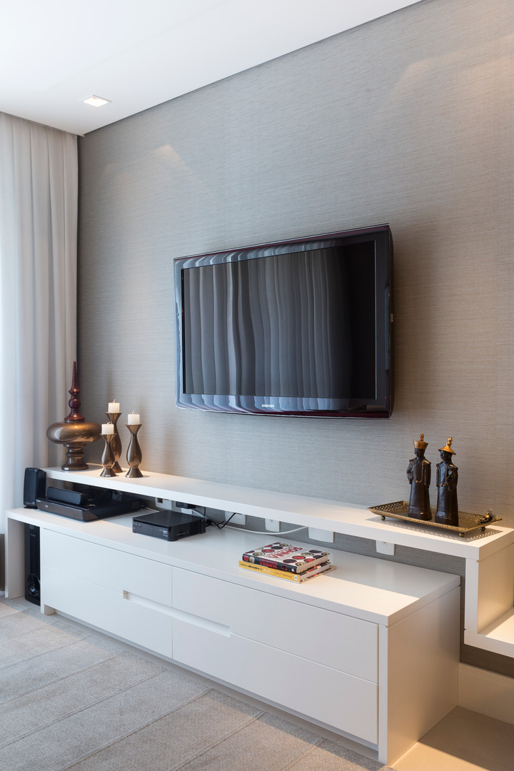Sala Apartamento Florianopolis clean Ana