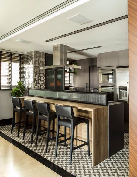 Projeto Ana Trevisan - cozinha apartamen
