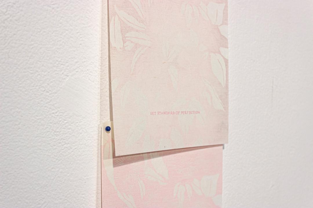 woodcut, silkscreen on paper 2019