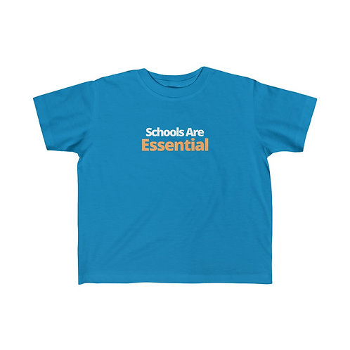 "Kids ""Schools Are Essential"" Tee"