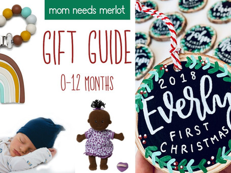 2020 Gift Guide for Babies 0-12 Months