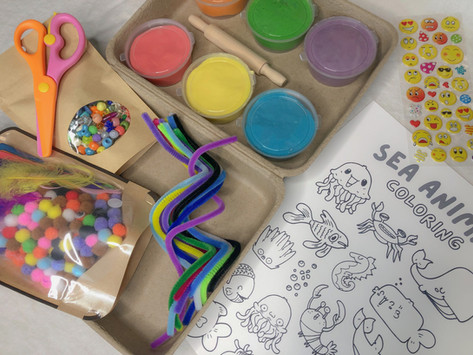 Introducing: Mom Needs a Minute Sensory-Based Busy Boxes