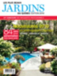 Couverture magazine 2010, Candide Villeneuve Paysagiste