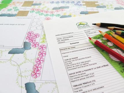Comment bien prévoir son projet d'aménagement paysager durant la saison froide