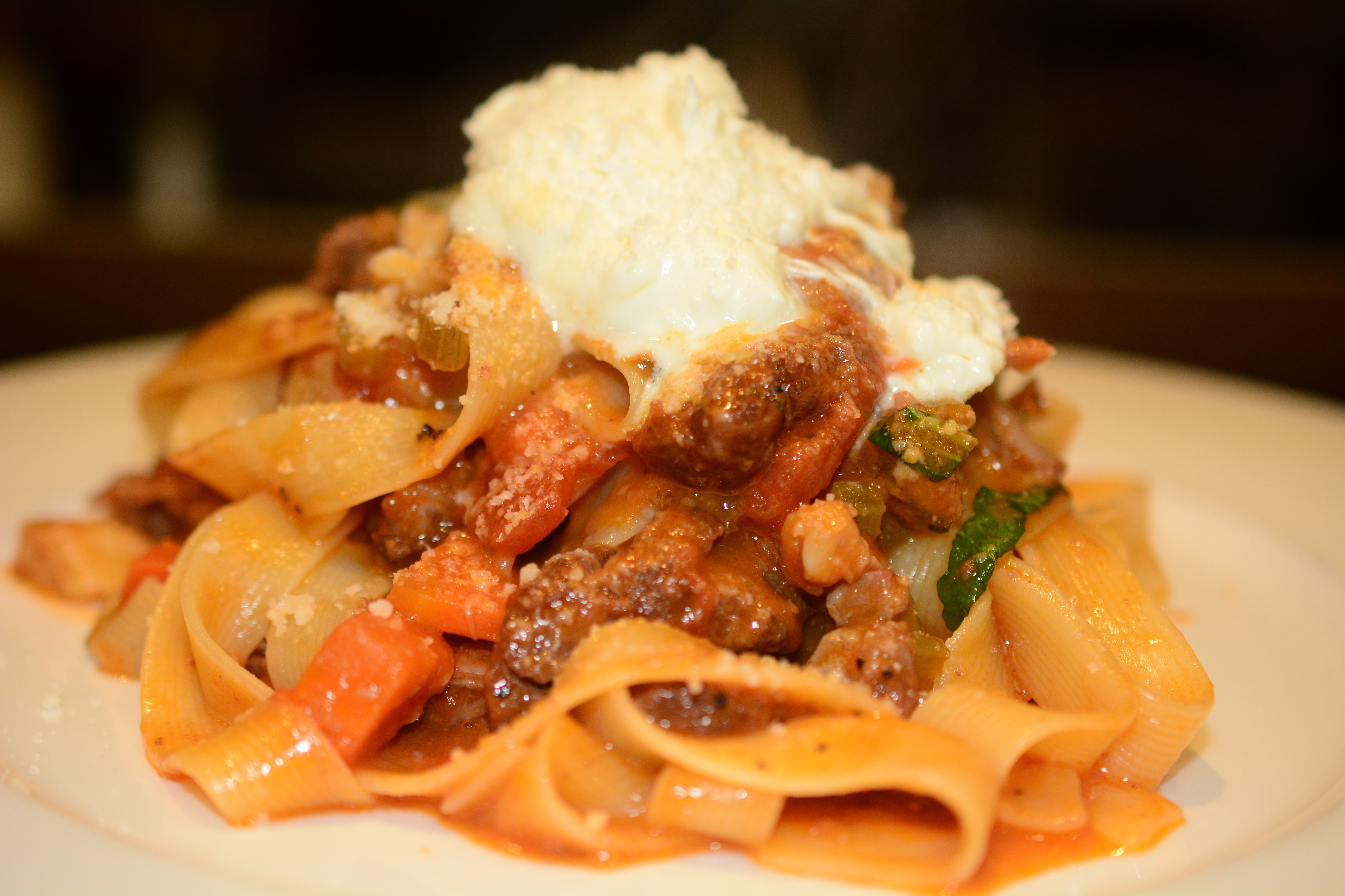 Oxtail Bolognese