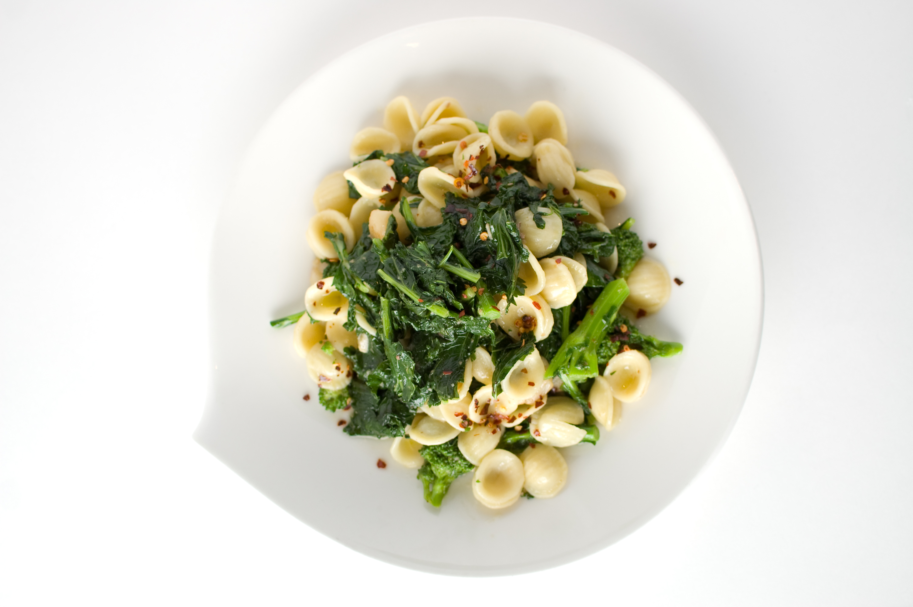 Macaroni with Broccoli Rabe