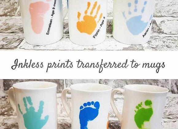 Hand/Foot print mug