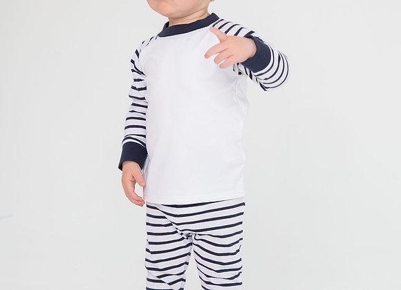 Striped pyjamas 2-3 years