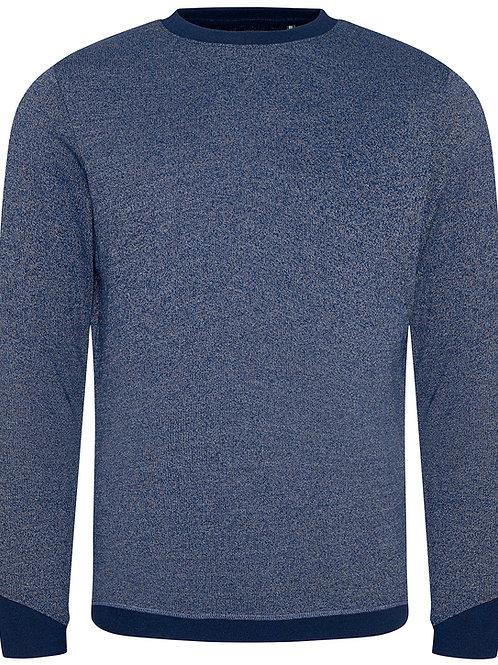 Blue Unisex Organic Cotton Jumper - M