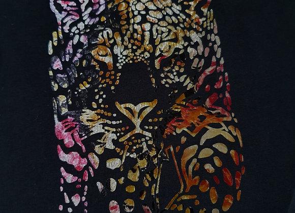 Leopard design jumper
