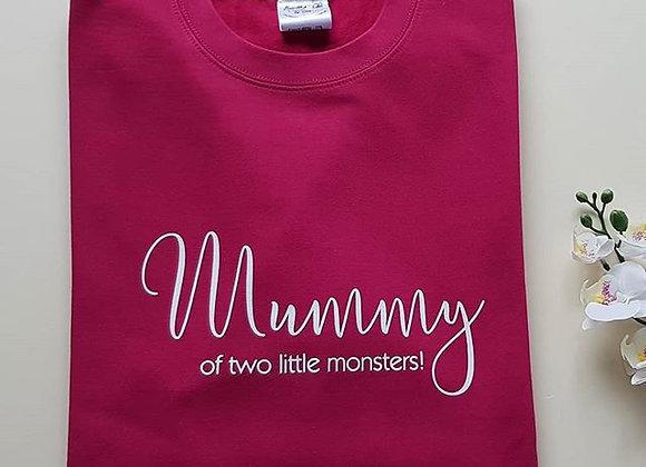 Mama Sweatshirt - Custom Create Your Own Tag Line