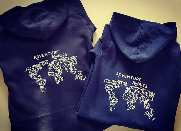 World Map Hoodie/Sweatshirt